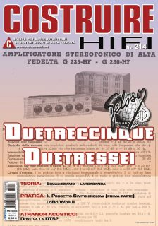 COSTRUIRE HIFI N. 214